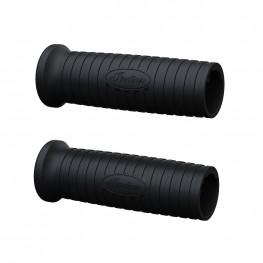 10-Setting Heated Handlebar Grips in Black, Pair