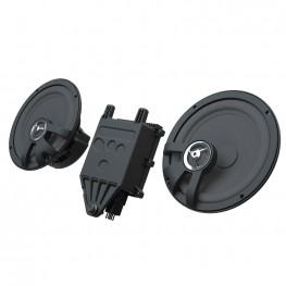 Powerband Audio 6 1/2 in. Saddlebag Speakers
