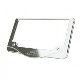 Headdress License Plate Frame, Chrome