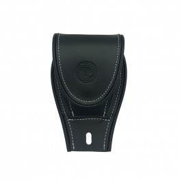 Genuine Leather Tank Pouch, Black
