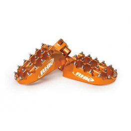 RHK KTM Orange Pursuit Footpegs