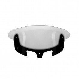 Polycarbonate 13.7 in. Flare™ Windshield, Tinted