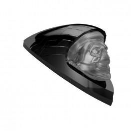Front Fender Headdress Light Kit, Gloss Black