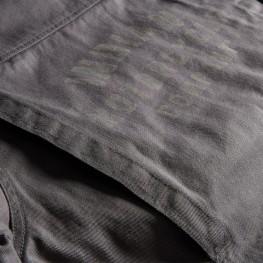 Men's Twill Burt Casual Jacket, Gray
