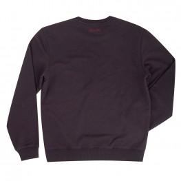 Men's Pull-Over Sweatshirt with Shield Logo, Gray