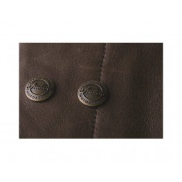 Men's Traditional Leather Chaps, Brown