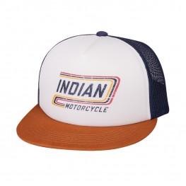 High Profile Retro Trucker Hat, Multicolor