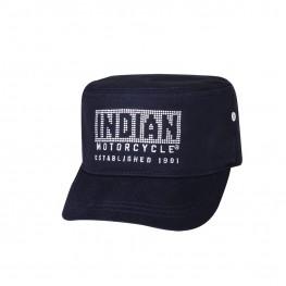 Women's Army Style Diamante Hat, Black