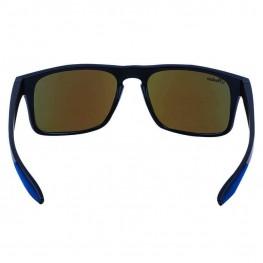 Casual Atlanta Sunglasses with Blue Revo Lens, Black