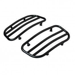 Saddlebag Lid Racks - Black