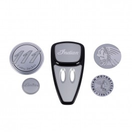 Touring Engine Cover Kit, Star Silver