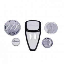Touring Engine Cover Kit, Gloss Pearl White