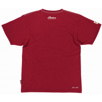 2869657 Men's Icon Round Logo T-Shirt, Marl Red ba